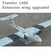 Traveler Twin 1400 Upgraded Standard Kits+ARF Electronic combo
